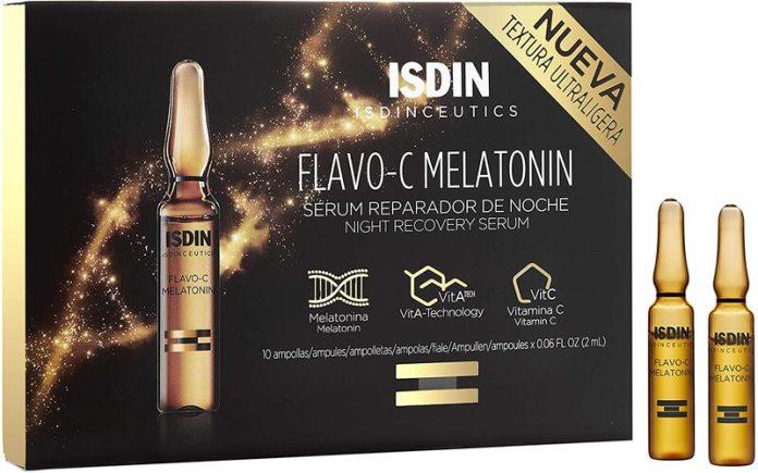 cliomakeup-siero-viso-notte-2021-isdin-flavo-c-melatonin