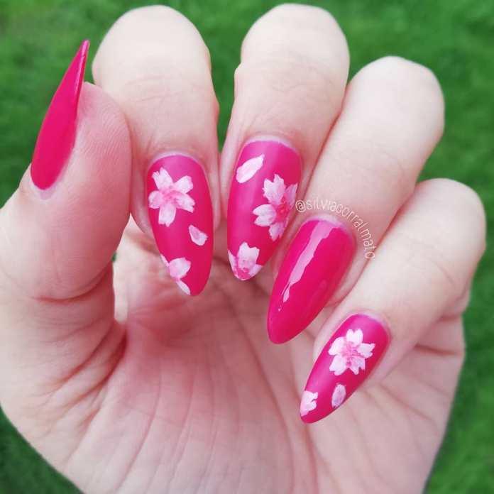 Cliomakeup-unghie-pink-sakura-fucsia