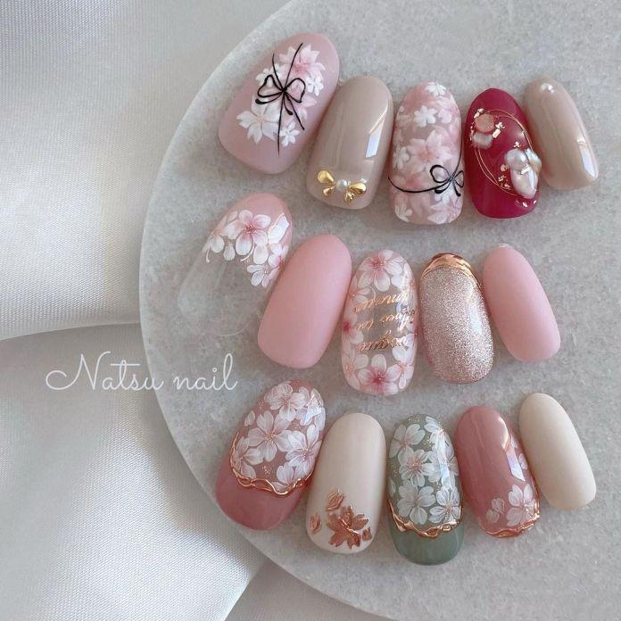 Cliomakeup-unghie-pink-sakura-unghie-finte