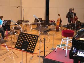 コンサートホールで録音