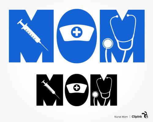 nurse mom svg