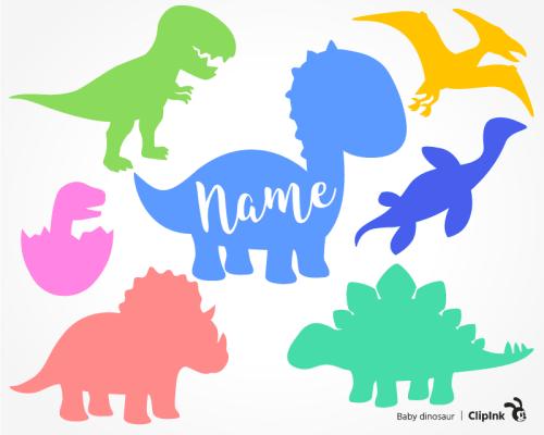 baby dinosaur svg