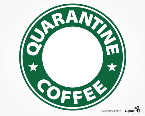 starbucks quarantine svg