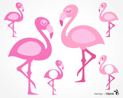 flamingo svg