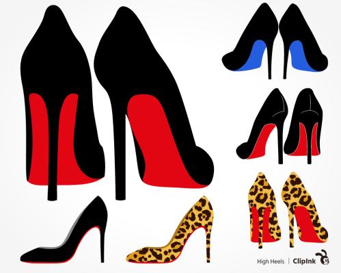 heels svg