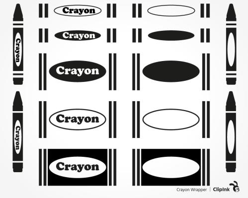 crayon label
