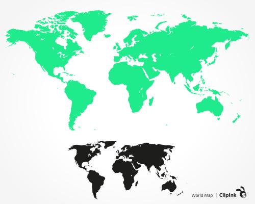 world map svg