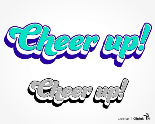 cheer up svg