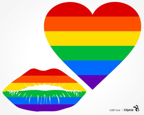 LGBT love svg