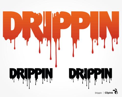 dripping svg