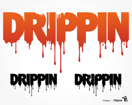 dripping svg