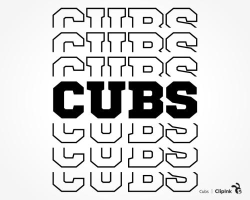 cubs svg