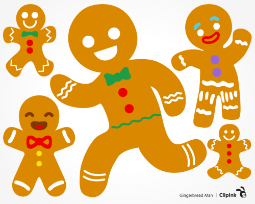 gingerbread man svg