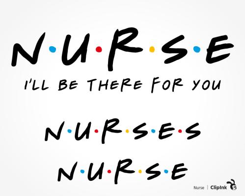 nurse friends svg