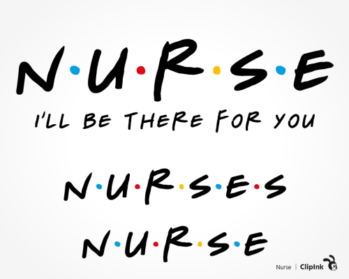 nurse friends svg