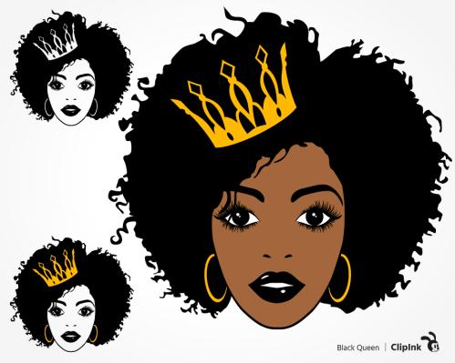 black queen svg