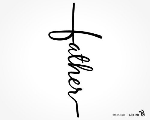 father cross svg