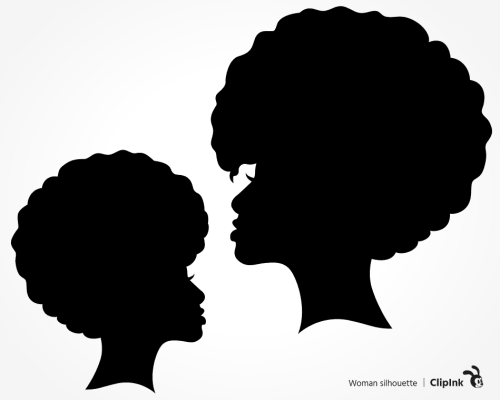 black woman silhouette