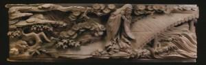 欄間「黄石公」(横須賀市・真福寺所蔵)©石川靖弘(山の上スタジオ)
