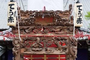 寺赤組山車