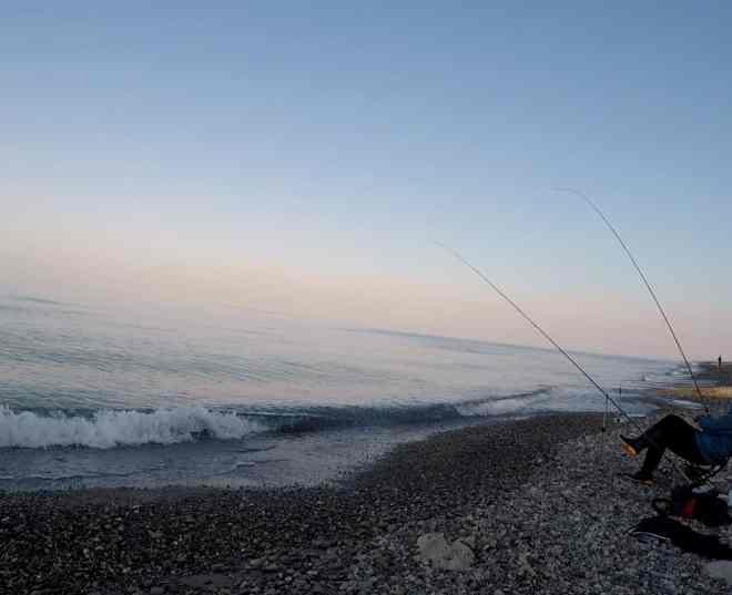 piccolo richiamao dell'esca feeder in mare