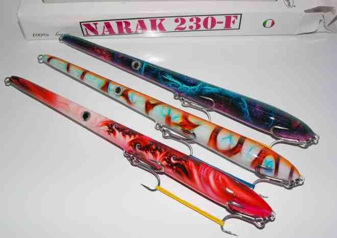 NARAK 230 - F - RED SMOKE - SPECTRAL ORANGE - FUSION