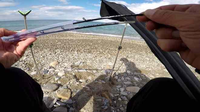 scelta della vetta per il feeder in mare