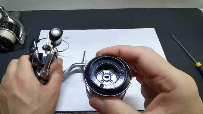 controllo bobina mulinello e pulizia