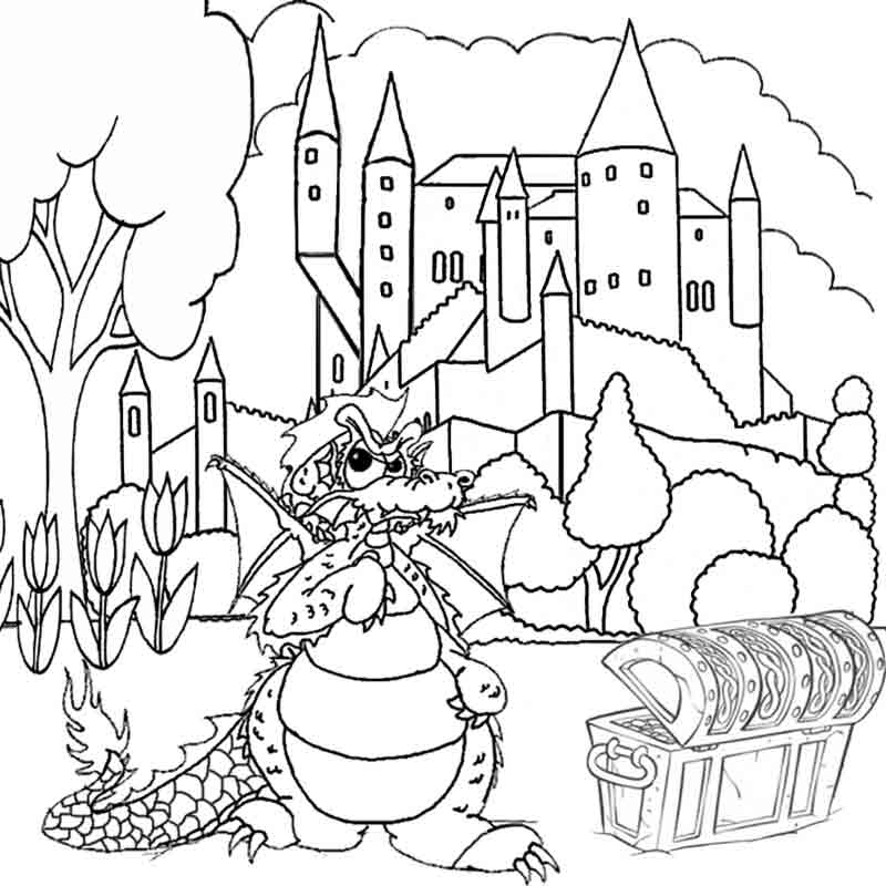 Free Dragon Pictures To Print And Color Download Free Clip Art Free Clip Art On Clipart Library