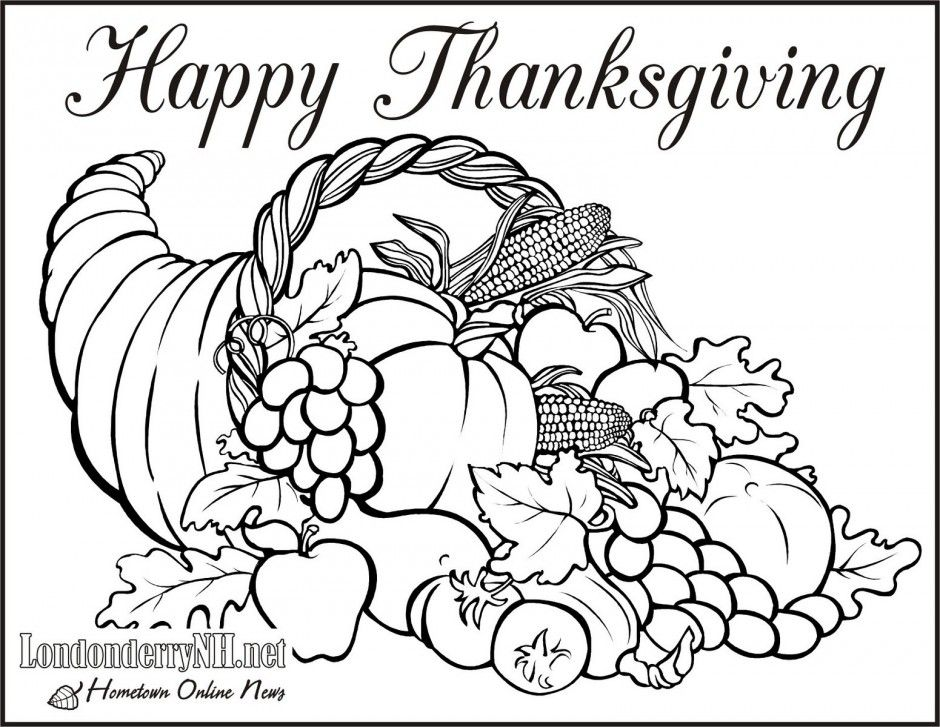 Free Cornucopia Pictures To Color Download Free Clip Art Free Clip Art On Clipart Library