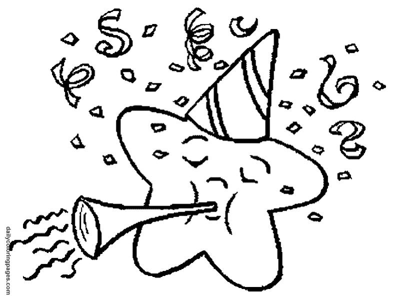 Free New Years Eve Coloring Pages Download Free Clip Art Free Clip Art On Clipart Library