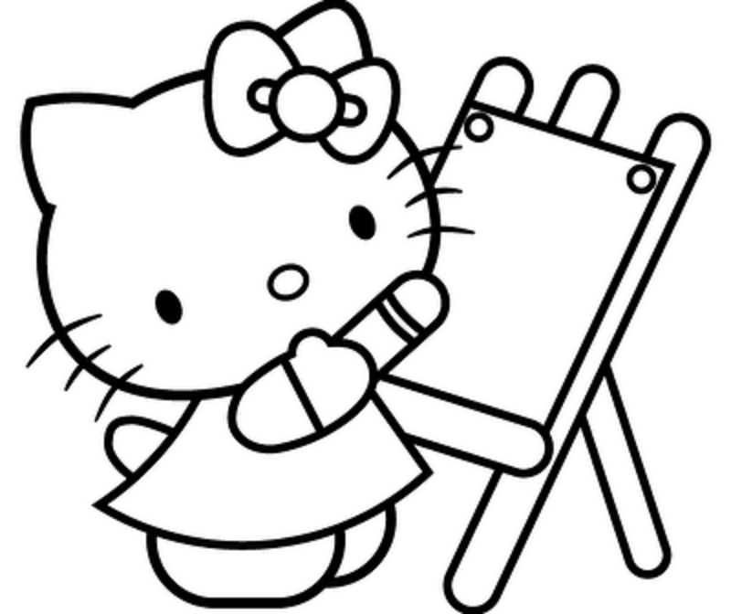 Free Free Printable Hello Kitty Coloring Pages Download Free Clip Art Free Clip Art On Clipart Library
