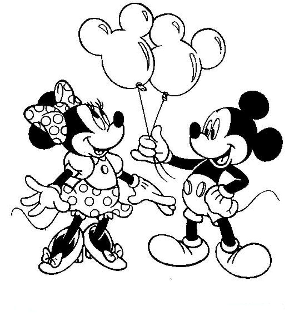 Free Mickey And Minnie Mouse Coloring Pages To Print For Free Download Free Clip Art Free Clip Art On Clipart Library