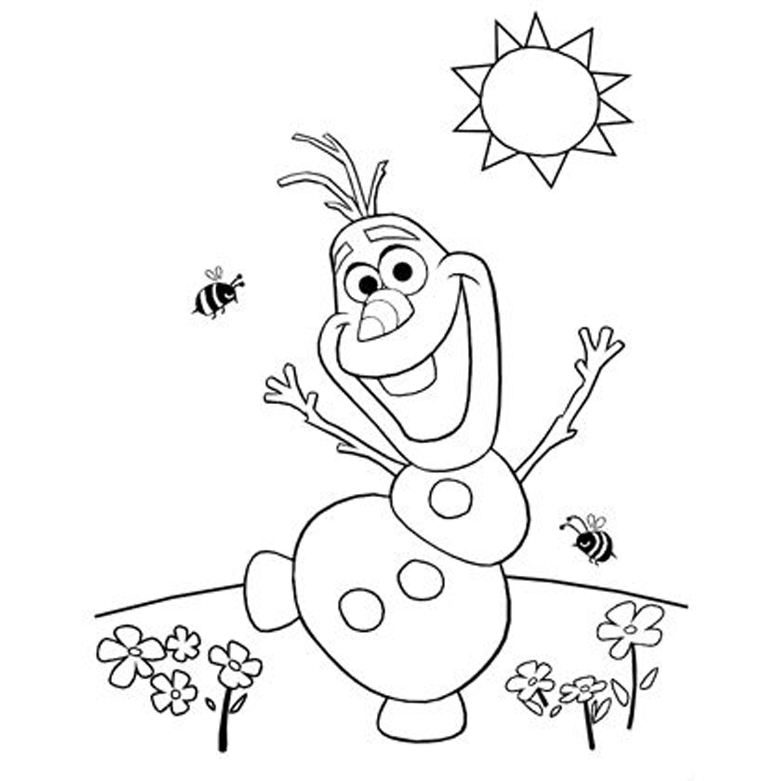 Free Olaf Coloring Pages Download Free Clip Art Free Clip Art On Clipart Library