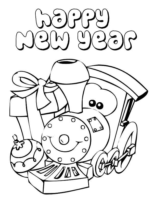 Free Happy New Year Coloring Pages Download Free Clip Art Free Clip Art On Clipart Library