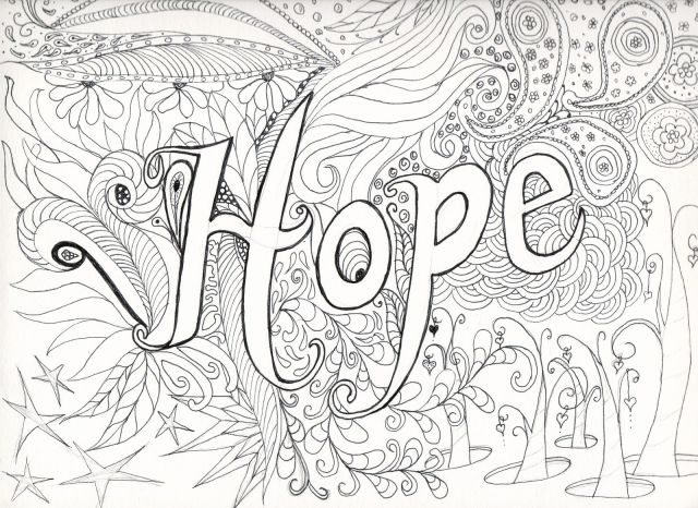 Free Abstract Coloring Pages For Teenagers Difficult, Download