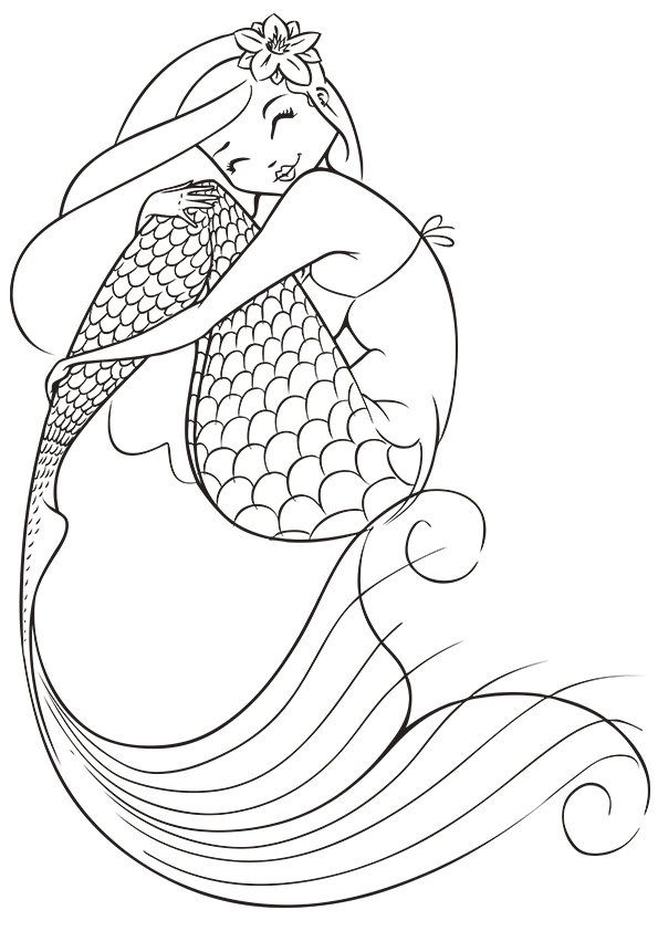 Free Mermaid Free Coloring Pages Download Free Clip Art Free Clip Art On Clipart Library