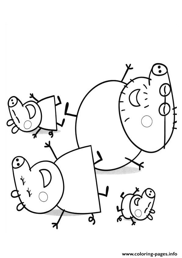 Girl Coloring Pages Peppa Pig Clip Art Library