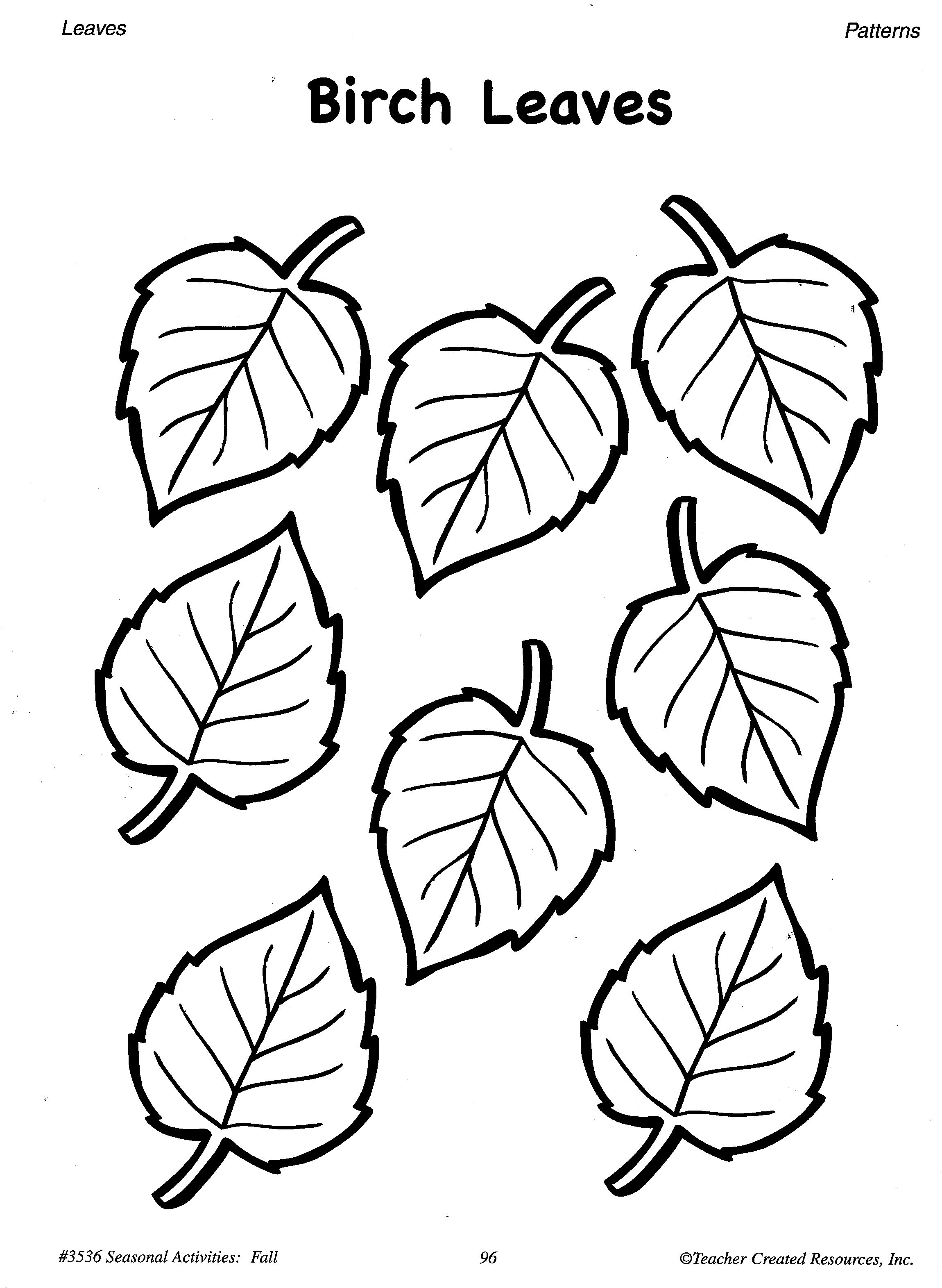Free Traceable Leaf Patterns Download Free Clip Art Free