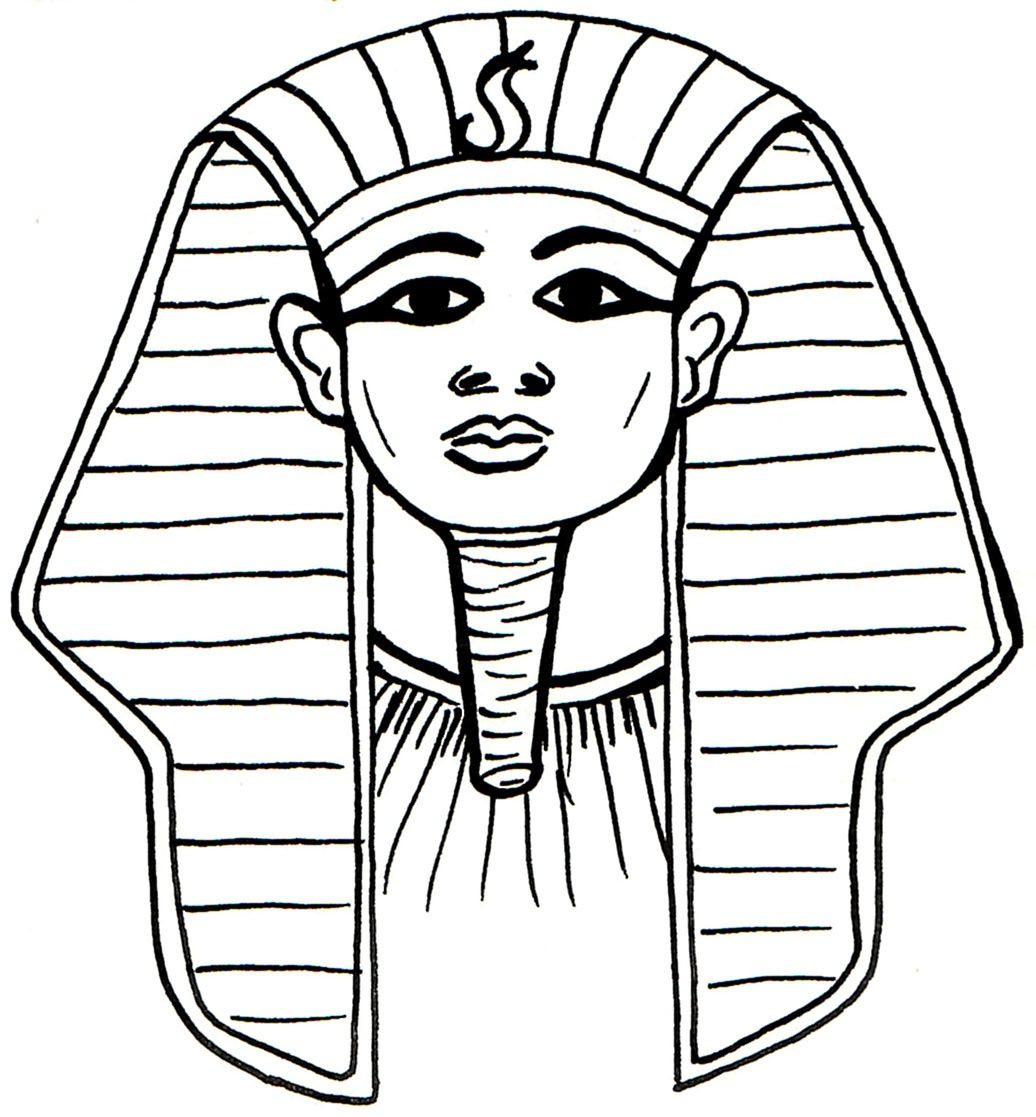 Sphinx Colouring Pages