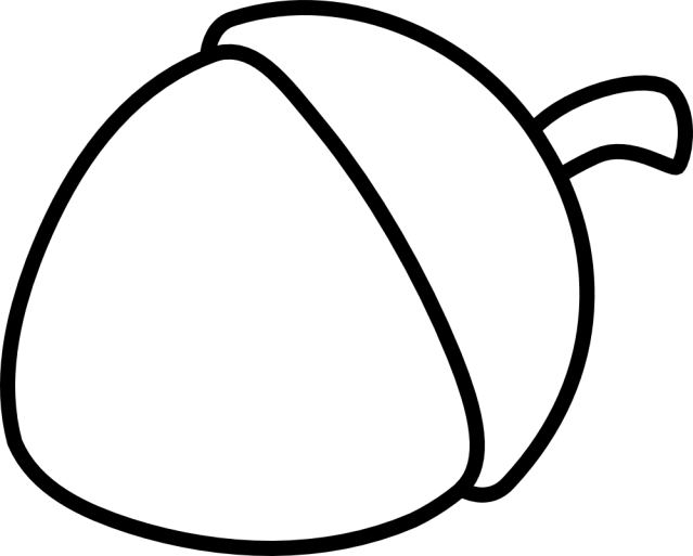 Free Acorns Coloring Pages, Download Free Acorns Coloring Pages