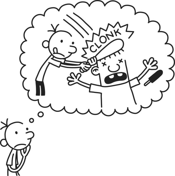 diary of a wimpy kid coloring pages # 17