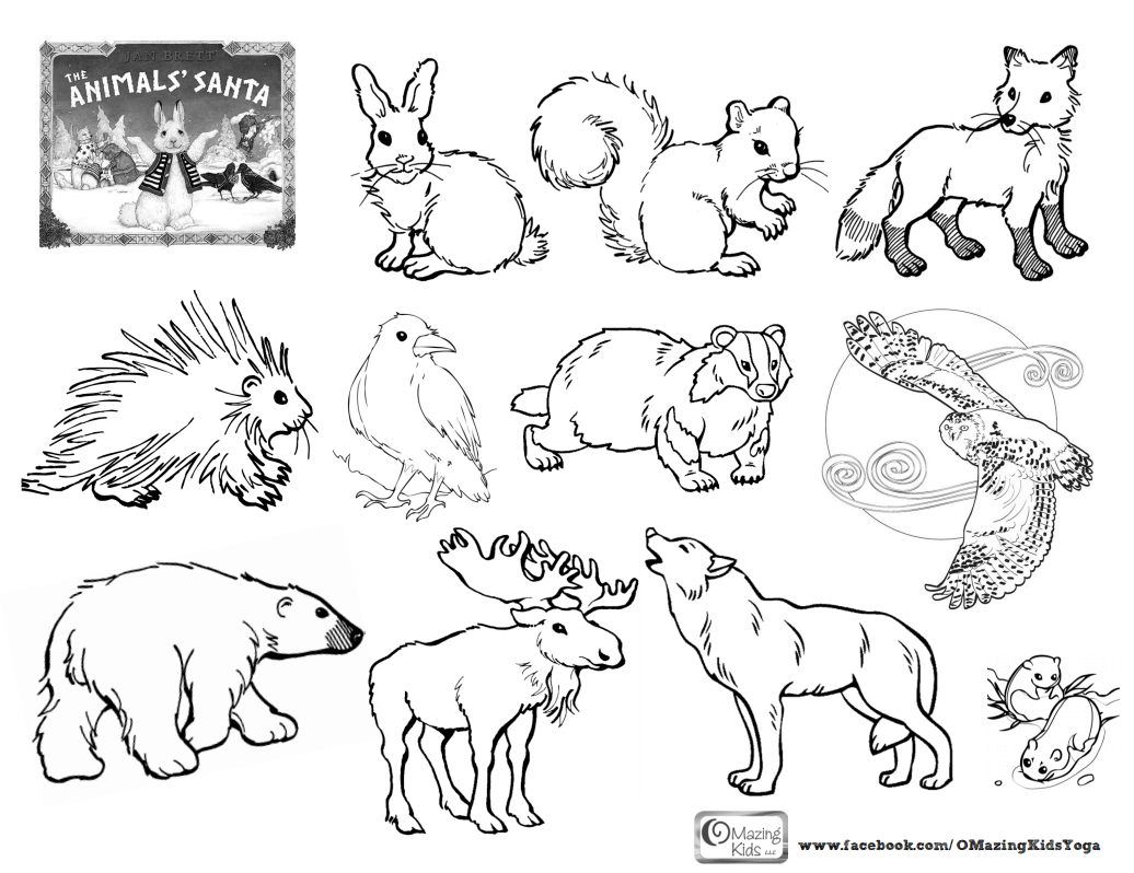 Free Free Printable Arctic Animals Coloring Pages