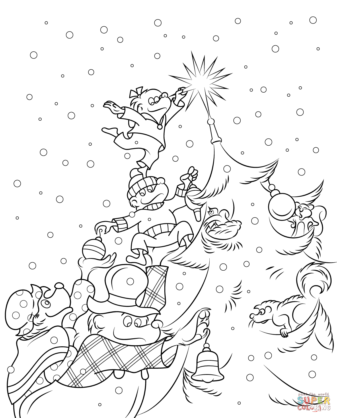 Berenstain Bears Colouring Pages