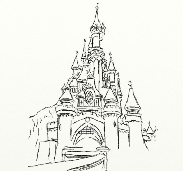 Free Disney Castle Coloring Pages Printable, Download Free Disney