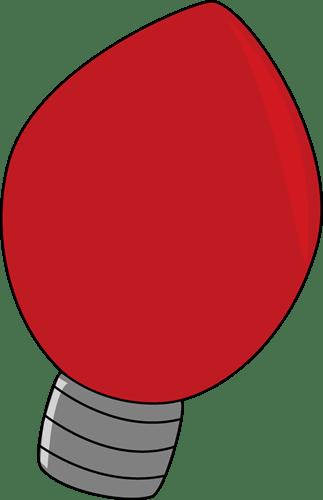 Christmas Light Bulbs Cartoon