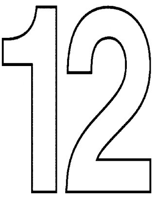 Free Number 12 Cliparts Download Free Clip Art Free Clip