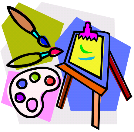 Art Easel Clip Art