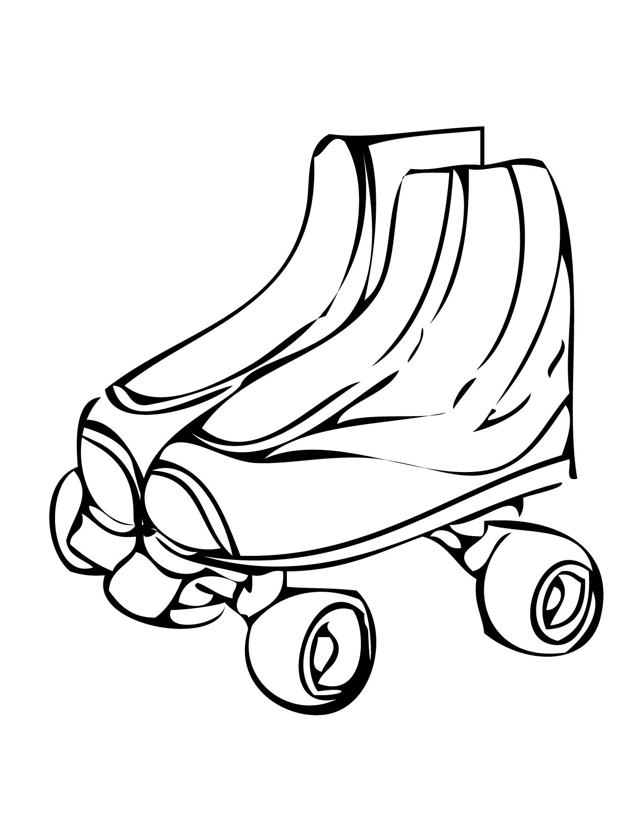 Free Rollerskate Cliparts Download Free Clip Art Free