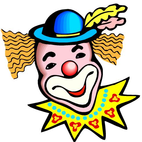 Cartoon Picture Of A Clown Clip Art Library